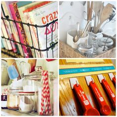 9 kitchen & pantry organization ideas -- from small to large projects!