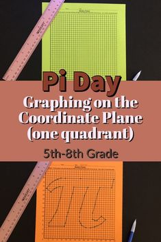 My Math Resources - Pi Day – Graphing on the Coordinate Plane (One Quadrant)