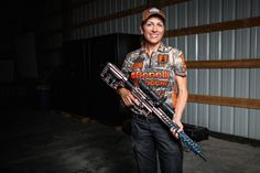 Dianna Muller with Betsy, her MSR where she talks about about this popular rifle. Only at The WON!