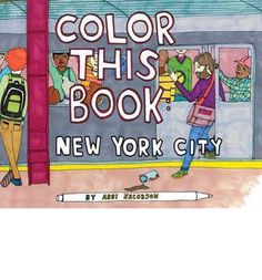 Featuring 31 illustrations by artist/actress Abbi Jacobson, this coloring book captures the charm and personality of bustling New York City