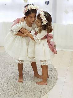 Pippas Wedding, Royal Wedding Gowns, Wedding Dresses For Kids, Boho Wedding Flowers, Wedding With Kids, Dream Wedding, Flower Girl Dresses Boho, Little Girl Dresses, Girls Special Occasion Dresses