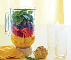 Eating wisely - Build a better smoothie - Article