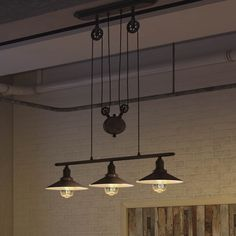 Vonn Lighting Delphinus 35-inches LED Linear Adjustable Hanging Industrial Chandelier Lighting with LED Filament Bulbs in Bronze