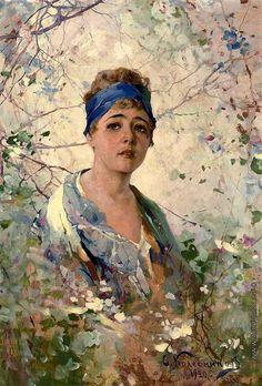 Колесников (Одесский) Степан Федорович [1879—1955] Девичья весна. 1920