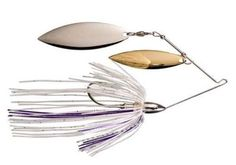 War eagle nickel spinnerbaits colordo willow
