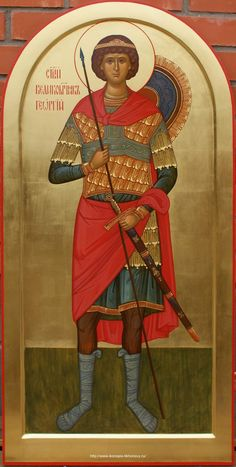 St George the Great Martyr  / Мерная икона