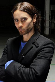 Jared Leto smirk