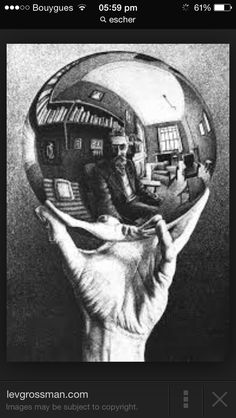 Escher-M. C. Escher, was a Dutch graphic artist. He is known for his often mathematically inspired woodcuts, lithographs, and mezzotints. These feature impossible constructions, explorations of infinity, architecture, and tessellations.
