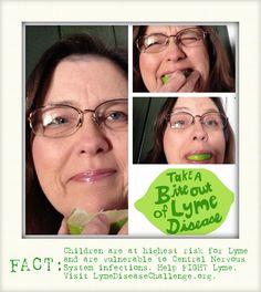 I just took a BITE out of LYME! Pucker UP!!! WHO's NEXT?!  ;)  #lymediseasechallenge @LymeChallenge @WorldLymeDay