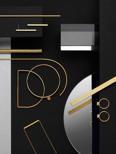 Jewelry design, inspirations, Geometric shape, DO shape