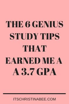 I used these study tips college and made Dean's List! Share these study tips for high school to help students get a high GPA. Financial Aid For College, Scholarships For College, College Students, Education College, College Success, Study Skills, Study Tips, Study Hacks, Types Of Education