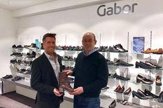 Firmen, die über ein Jahrzehnt bereits zusammenarbeiten: Gabor und schuhplus - Schuhe in Übergrößen