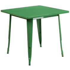 Square Metal Indoor / Outdoor Table 31.5''
