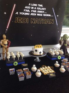 Nathan's Star Wars 5th Birthday Party | CatchMyParty.com