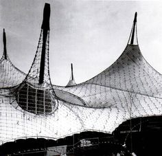 tensile structures for shade: frei Otto
