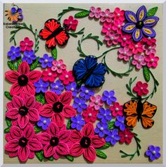 Image result for quilling butterfly
