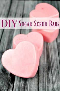 DIY Sugar Scrub Bars - Looking for that spa feeling at a fraction of the cost? These DIY Sugar Scrub bars are the perfect answer! They'll leave your skin feeling spa soft and your budget happy too!