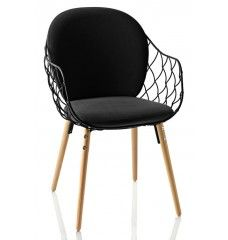 Magis - Piña Chair - Zwart - Naturel