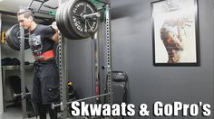 #Skwaats & GoPro's | Increasing Frequency for #GAINZ. #training #fitness #powerlifting #youtubers #squats #squatting #barbell #ironaddict #weightlifting #justsquat #justlift