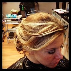 Lose messy updo!