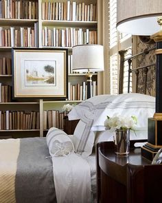 fuller view,instagram.G'night. #notmyphoto #notmybedroom #interiordesign #masculine #hisspace @traditionalhome