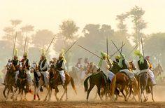 Tent Pegging | Punjab, Pakistan.