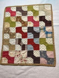 Old Quilts, Antique Quilts, Small Quilts, Mini Quilts, Vintage Quilts, Crib Quilts, Tie Quilt, Patch Quilt, History Of Quilting