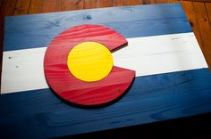 Colorado Wood flag