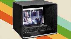Use an IKEA Box as a Foldable Laptop Hood for Outdoor Use