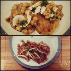 Cooking 101: Tikki Chole (Spiced potato croquettes with chick pea curry)