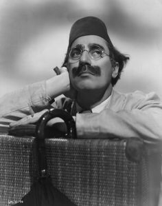 Julius 'Groucho' Marx , one of the Marx Brothers, a team of American film comedians. He is wearing a fez for his role in 'A Night In Casablanca', a David L Loew production. Get premium, high resolution news photos at Getty Images Groucho Marx, Zeppo Marx, Margaret Dumont, Bennett Cerf, George Burns, Celebration Quotes, Tear, Film Stills, World Best Photos