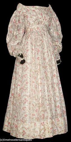 1830s dress | Flickr - Photo Sharing!
