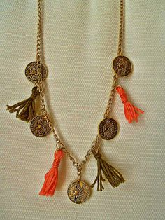 goodmorning, necklace, handmade, jewelry, fashion, women, style
