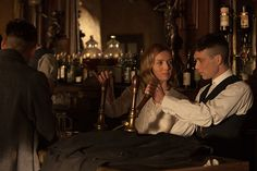 Annabelle Wallis as Grace Burgess, and Cillian Murphy as Tommy Shelby, in 'Peaky Blinders' Peaky Blinders Grace, Peaky Blinders Series, Peaky Blinders Thomas, Cillian Murphy Peaky Blinders, Peaky Blinders Merchandise, Grace Burgess, Peaky Blinder Haircut, Peaky Blinders Tommy Shelby, Peaky Blinders Wallpaper
