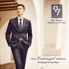 Men's Customized Clothes Wedding and Formal Wear. Tailored just for you! call: 8080 927 927 #Menswear #Formalwears #Mumbai #chembur visit http://www.9to7fashions.com/