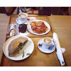 delicious breakfast to start the day with energy at the Praktik Bakery Hotel! Photo taken by @Cris_santa