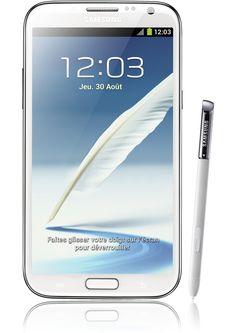 Samsung Galaxy note 2 4G blanc compatible  #4GOrange