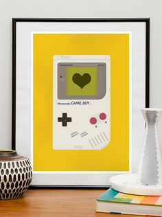 Game Boy Wall Art, $20.00