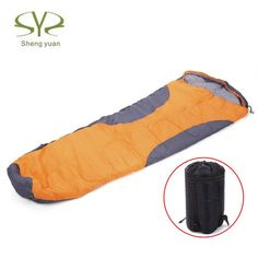 Adult Sleeping Bag With Cotton liner and Waterproof Fabric