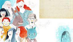 A partir de la pérdida accidental de un diente de leche, la pequeña Natalia narra lo que le sucede en su casa, con su papá, su mamá y Paz, su conejo, y en la escuela, con Hugo, el grandote. Así es Dientes, de Antonio Ortuño (texto) y Flavia Zorrilla (ilustraciones), publicado por Petra Ediciones.