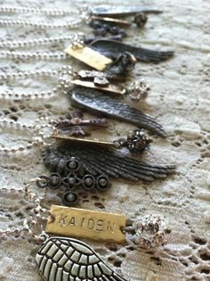 Wing Necklaces | DuctTapeAndDenim.com