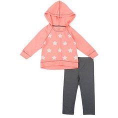 Healthtex Baby Toddler Girl Activewear 2-piece Set, Size: 5 Years, Green