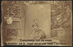 #Fotoliegen opdracht 4 - Titel Carrousel, foto 6: zelfportret Alexandrine Tinne, bewerking Dorien Leopold