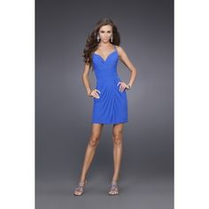 The sweetheart neckline dips in between the bust which is held up with inch wide straps. The fitted skirt hits above the knee and matches the open back, which also shows off some skin. The simple cut of the dress makes it incredible for so many occasions and a great addition to your wardrobe. Free made-to-measurement service for any size. Available colors seen as in Color Options.