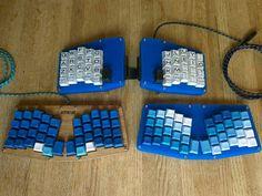 Atreus - shades of blue
