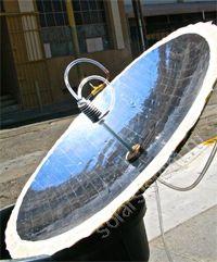 Солнечный концентратор для нагрева воды своими руками