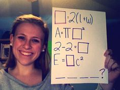 Math promposal! So cute and simple.