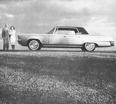 Detail from 1964 Advertisement for the '64 Chrysler Imperial