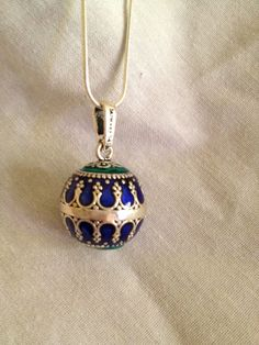 NEW  Harmony Bola Ball Angel Chime Pendant by oldredmaredesigns, $53.00
