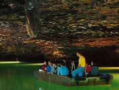The lost Sea is in Sweetwater Tennesse and is listed in the Guinness Book of World Records as Americas Largest underground Lake